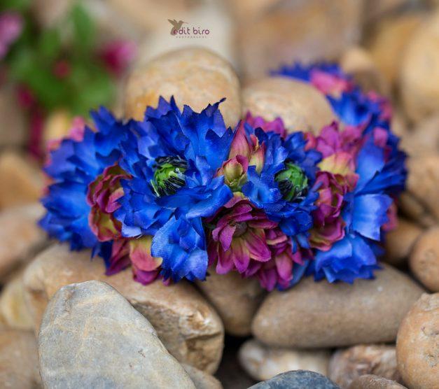 čelenka na fotografování, květinová čelenka, květiny, foto, fotograf